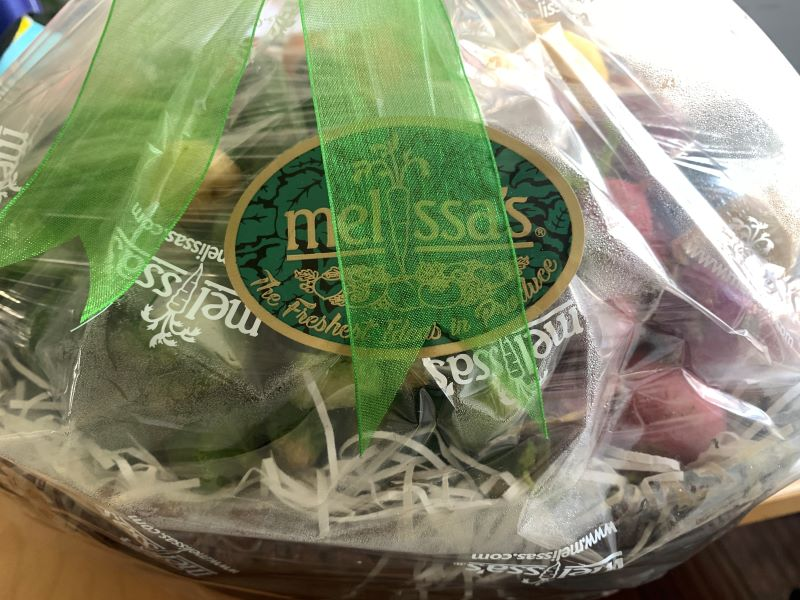 Melissa's Produce veggie basket