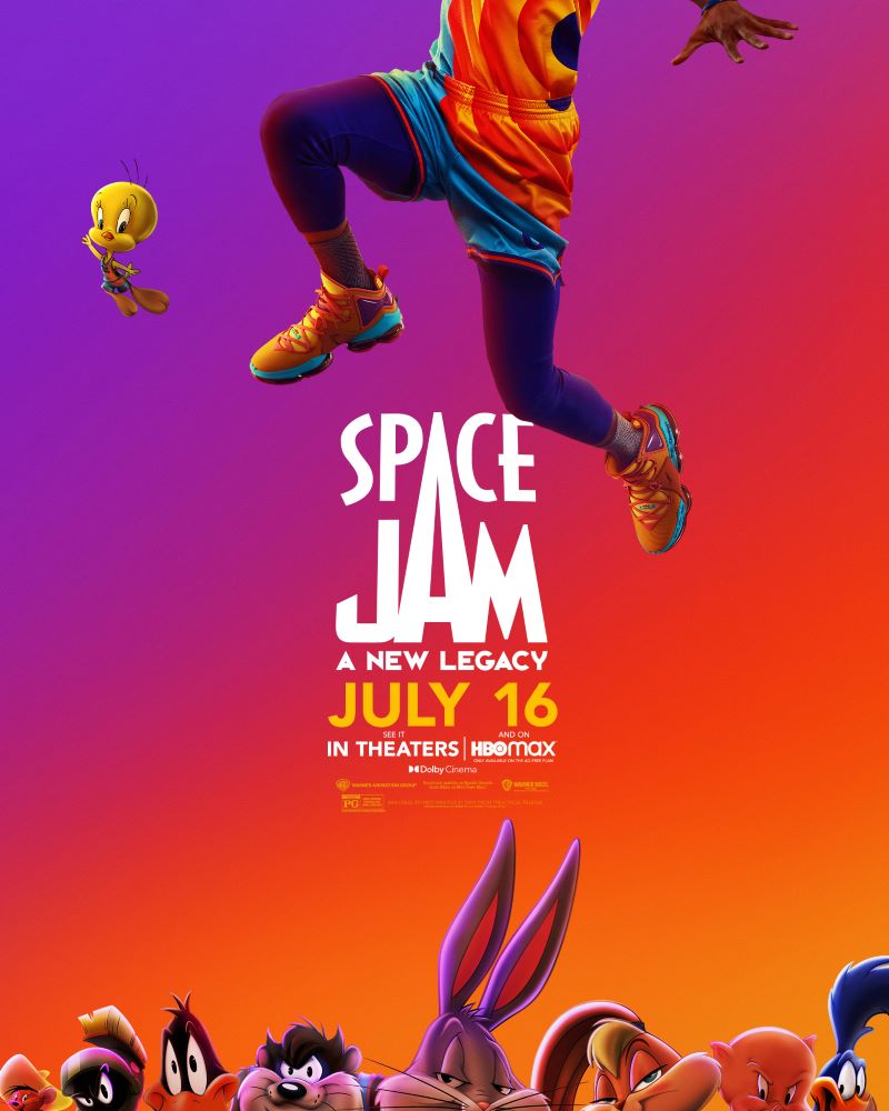 space jam, a new legacy
