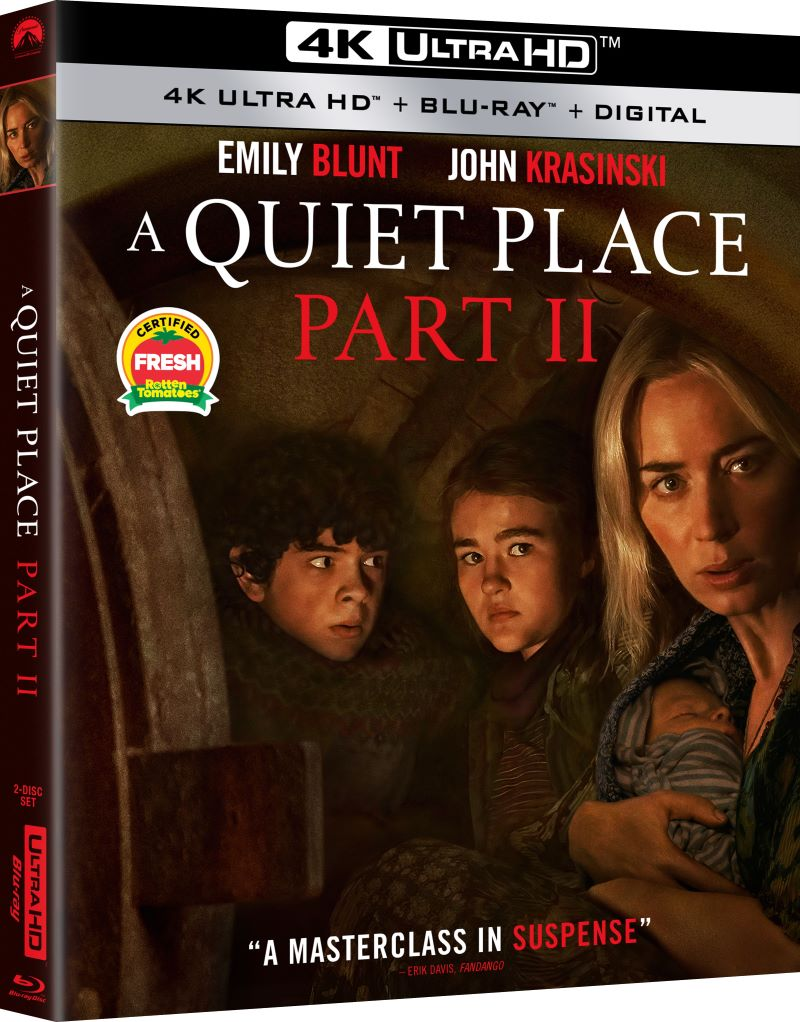 a quiet place part II blu ray