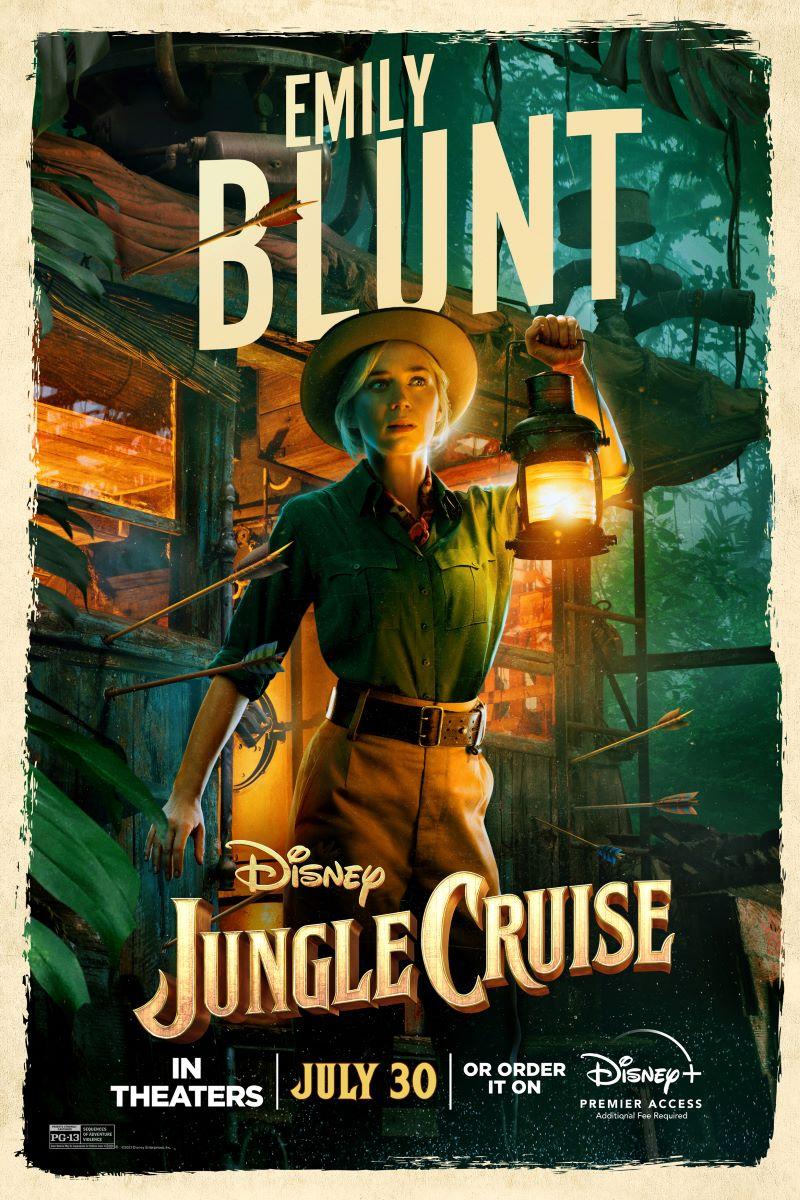 jungle cruise, emily blunt