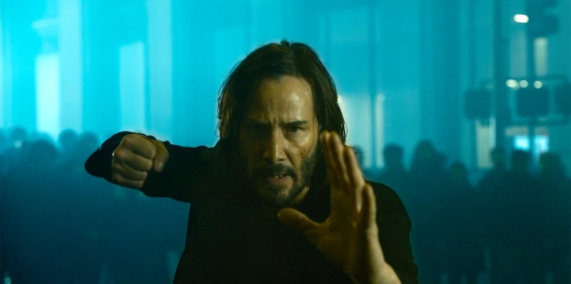 keanu reeves the matrix resurrection