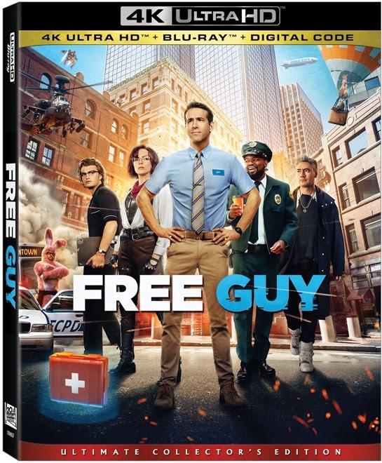 free guy blu-ray