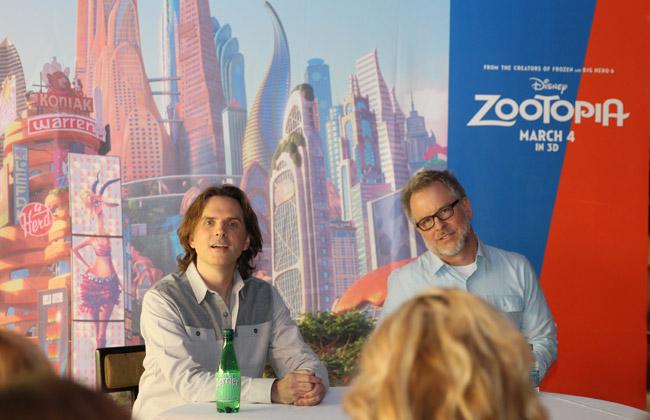 Zootopia Directors, I love sloths, Kristen Bell loves sloths