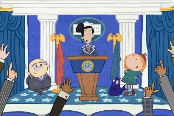 PBS Kids, Sandra Oh, Peg and Cat,