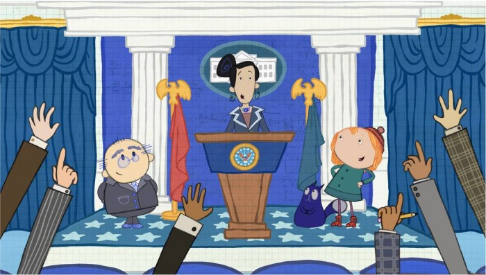 PBS Kids, Sandra Oh, Peg and Cat,