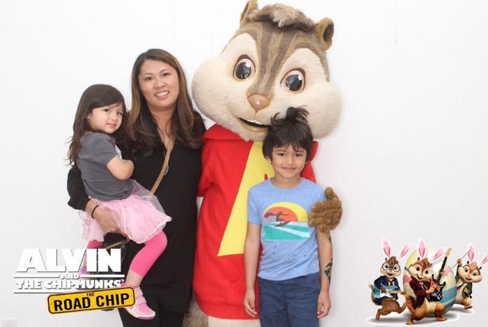 Au Fudge, Alvin and the chipmunks
