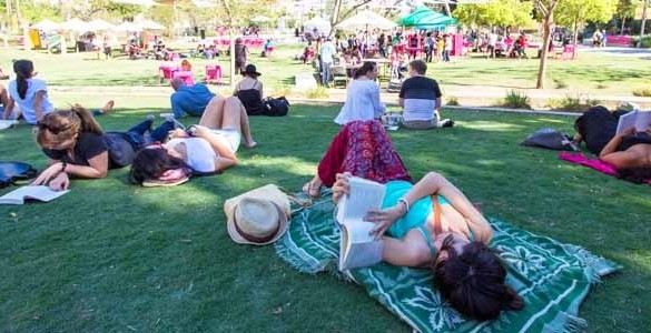 Bookfest, Downtown Bookfest, Grand park downtown bookfest, free things to do in Los Angeles