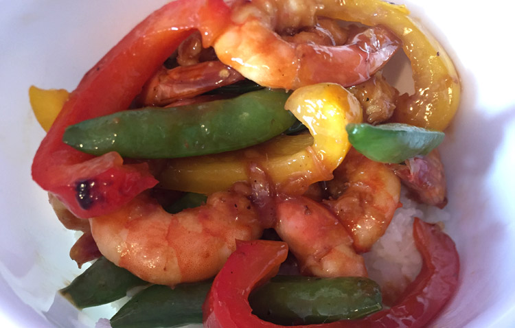 Pacific Chili Shrimp recipe