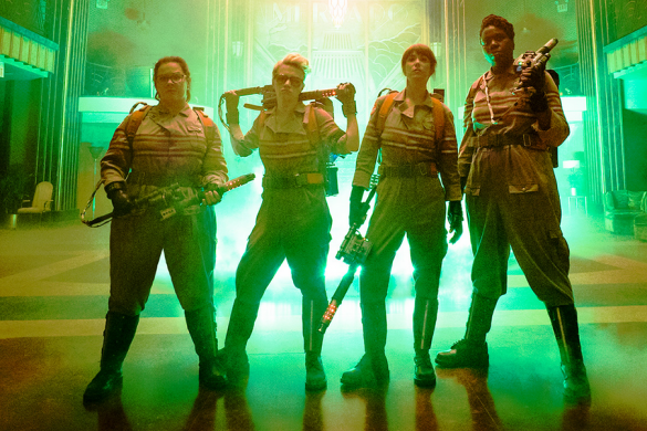 Ghostbusters girl power, all female cast, melissa mccarthy clothing line