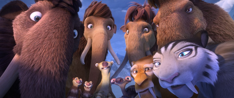 John Lequizamo, Ice Age: Collision Course, Wanda Skyes, Sid the sloth, Granny sloth