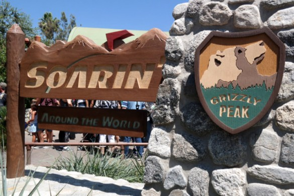 Soarin' Around The World, California Adventure, Disney attractions