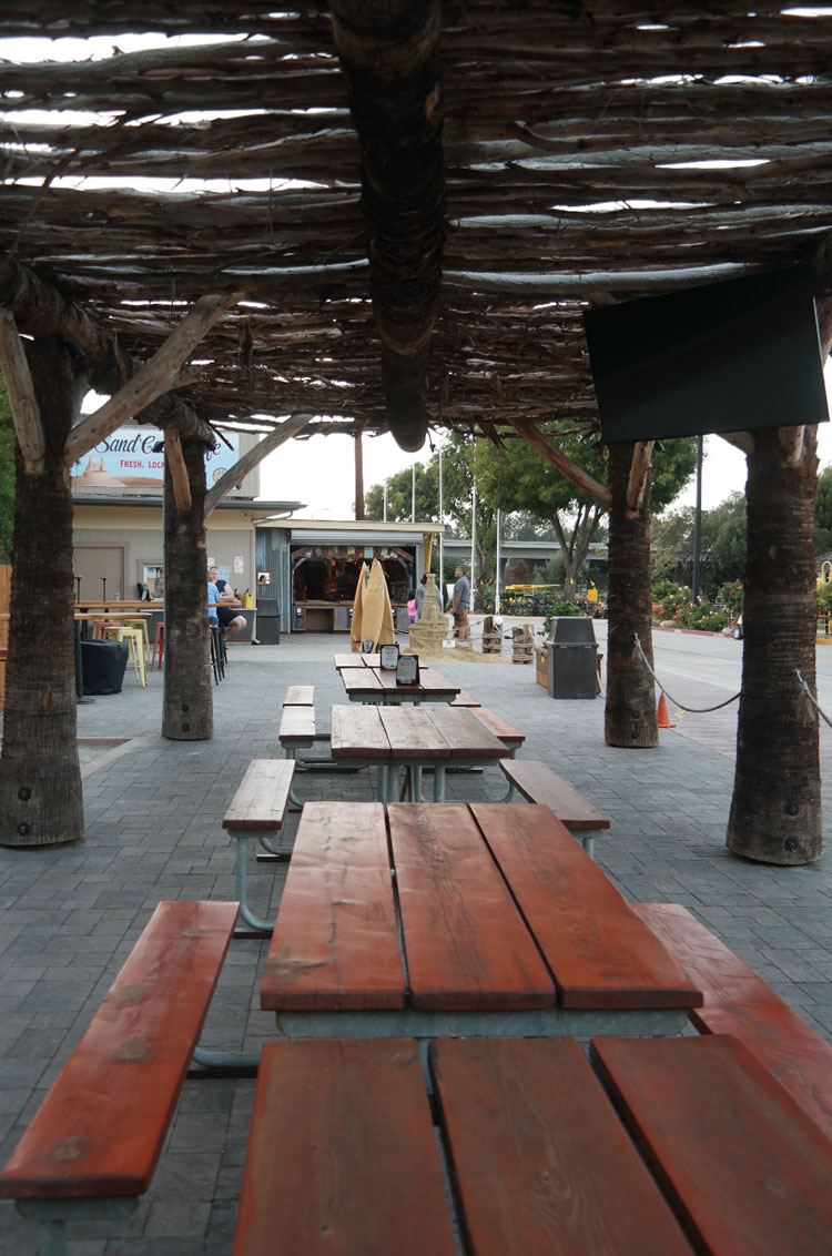 Sand Castle Cafe Outdoor Seating