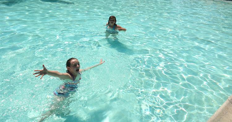 San Diego Camping Swimming Pool