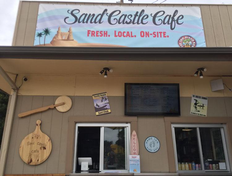 San Diego KOA Sand Castle cafe