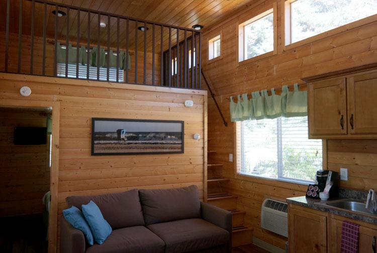 San Diego KOA Deluxe Cabin