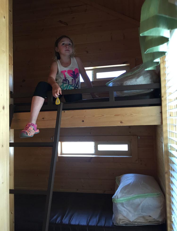 San Diego KOA bunk beds
