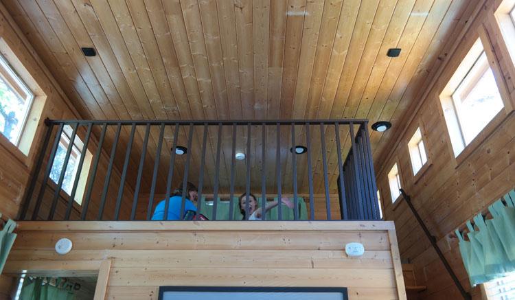 San Diego KOA Deluxe Cabin Loft
