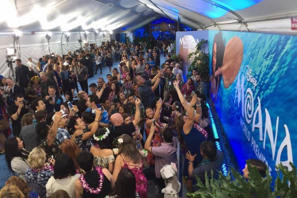 Moana premiere, Lin-Miguel Manual