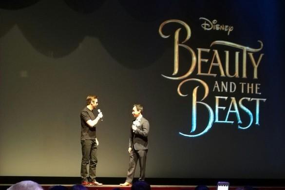 Dan stevens at Disneyland, Beauty and the Beast sneak peek, Red Rose Taverne, Grey stuff at disneyland