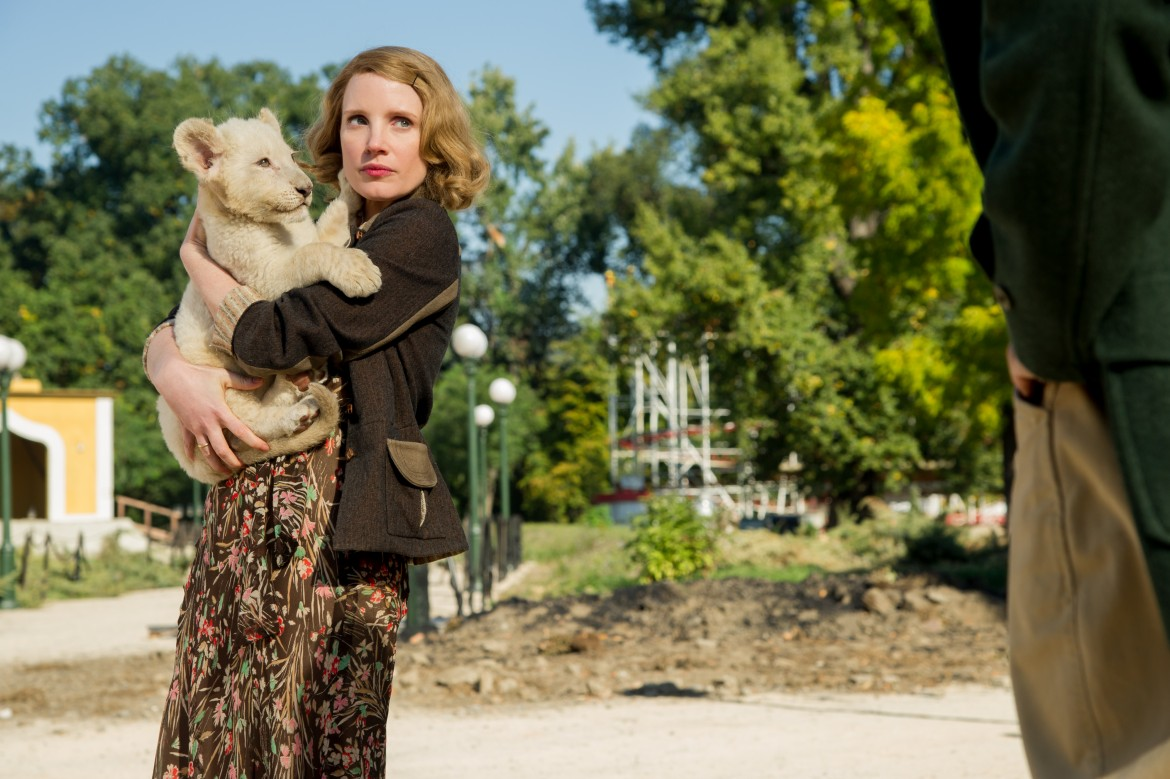 Jessica Chastain, zookeeper's wife