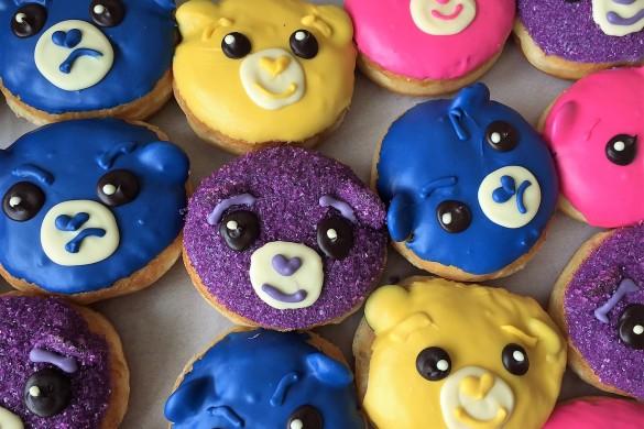 california donuts care bears, national donut day, donuts, care bears, grumpy bear