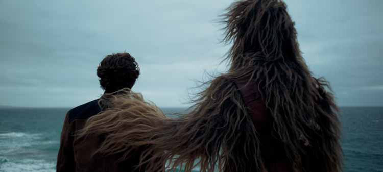Solo: A Star Wars Story, Who plays chewie