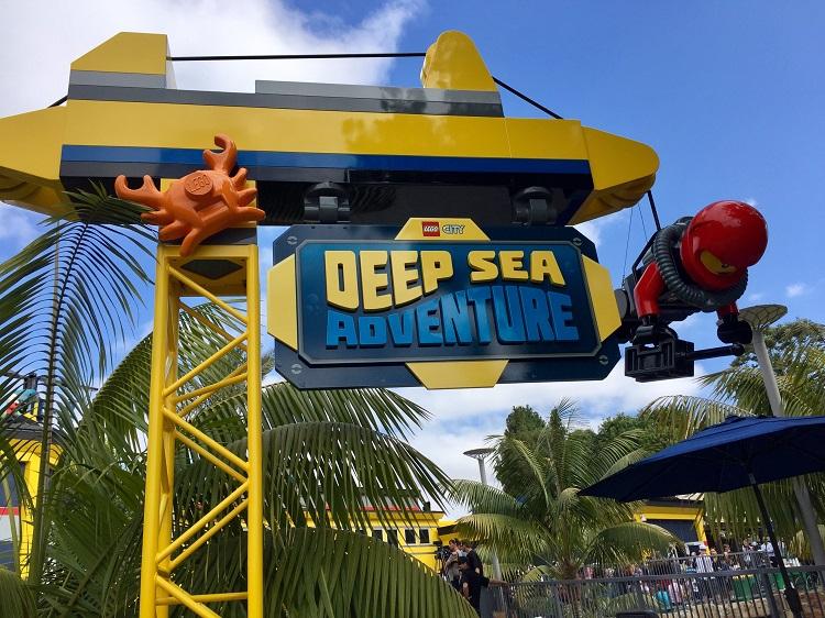 lego city deep sea adventure, legoland california deep sea adventure