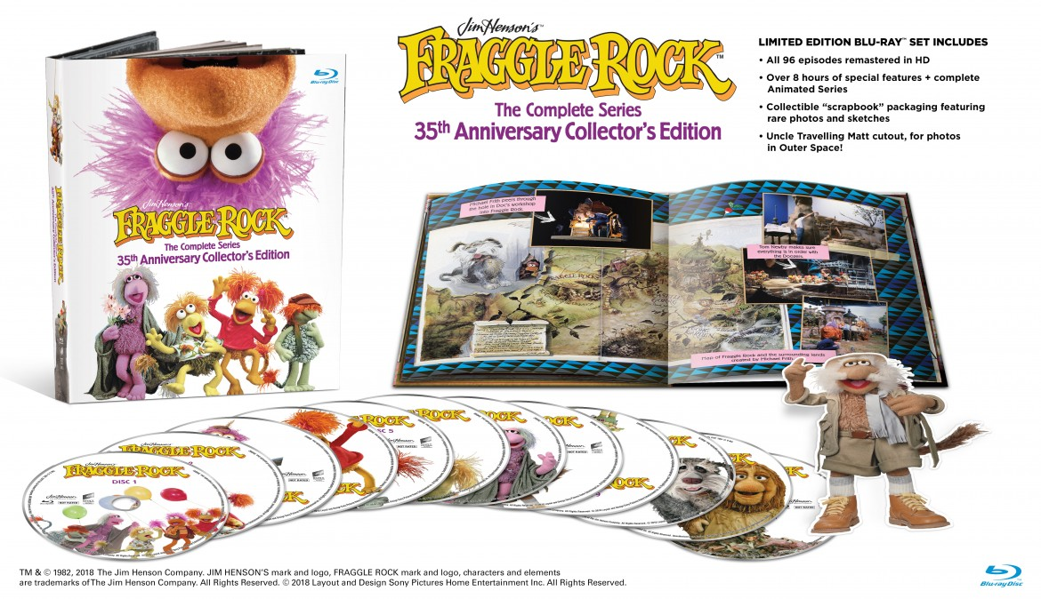 Fraggle rock, Fraggle Rock: The Complete Series 35th Anniversary Collector's Edition GIVEAWAY