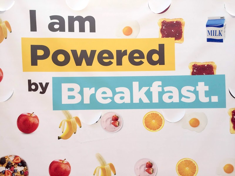 Powered by breakfast No Kid Hungry