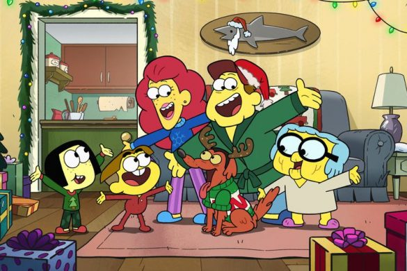 Big City Greens Green Christmas
