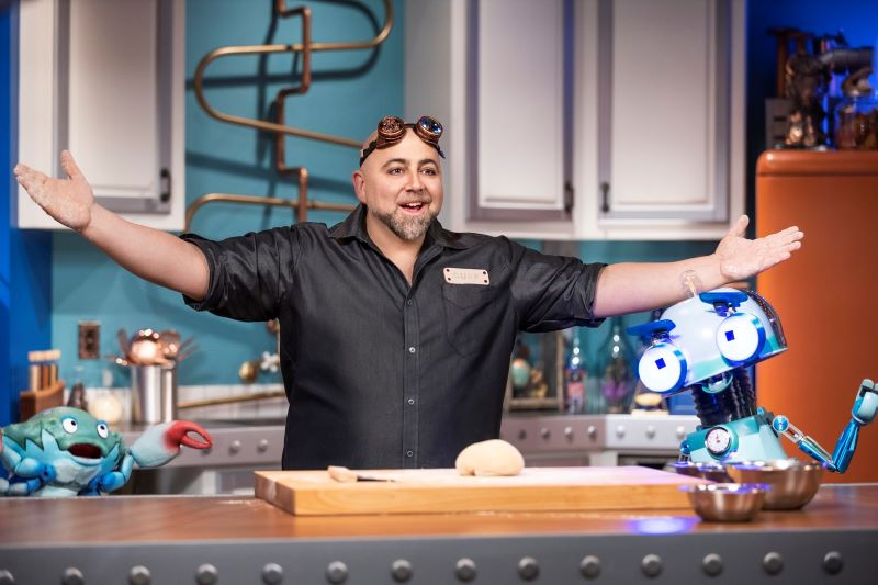 Duffs happy fun bake time