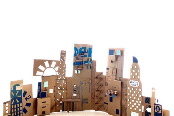 rediscover center cardboard city