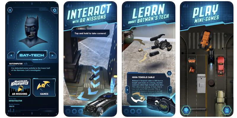 dc batman bat tech edition app